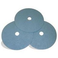 Pearl Abrasive Fz5024 5 X 78 Heavy Duty Zirconia Fiber Discs Z24 (25 In A Box)-1