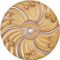 Pearl Abrasive Hex1706ez 15 Plate With 6 Ez Pad Pins-1