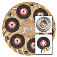 Pearl Abrasive Hex17ftcclt 17 Turbo Cut Plate Wsuper Clutch-1