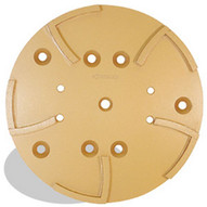 Pearl Abrasive Hex1ghp10 10 X 34 Hexpin Surface Grinding Plate 4 Holes 10 Segments-1