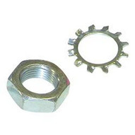 Pearl Abrasive Hex1hrdw Hexpin Replacement Nut & Lock Washer-1