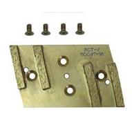 Pearl Abrasive Hex4pad-mfd Diamond Pad 4 Segments Includes 3 Hex-1