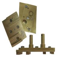 Pearl Abrasive Hex4seg-mfd Complete Diamond Pad Pin-1