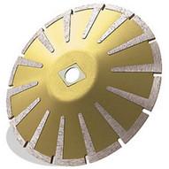 Pearl Abrasive Lwc06p 6 X .160 X Dia 58 Pearl P5 Granite & Marble Contour Blade 8mm Rim-1
