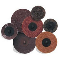 Pearl Abrasive Nw2cq 2 Ao Quickmount Mini Conditioning Discs Non-woven Coarse brown (50 In A Box)-1