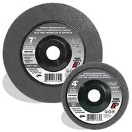 Pearl Abrasive Nw7gsfh 7 X 58-11 Sc Grey Surface Preparation Wheel Super Fine Grit (10 In A Box)-1