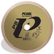 Pearl Abrasive Prm06be 6 X 58 Pearl P5 45 Deg. Bevel Profile Wheel Special Electroplated For Granite-1