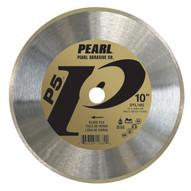 Pearl Abrasive Pv10g 10 X .050 X 58 Pearl P2 Pro-v Glass Tile Blade 7mm Rim-1