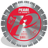 Pearl Abrasive Pv1412sds2 14 X .125 X 20mm Pearl P2 Pro-v Hard Material Segmented Blade 12mm Rim-1