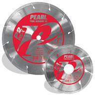 Pearl Abrasive Pv45pt 4-12 X .060 X 78-58 Pearl P2 Pro-v Dry Porcelain Blade 8mm Rim-1