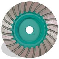 Pearl Abrasive Pw4mhprf 4 X 5 8-11 Pearl P4 Granite Turbo Cup Wheel Medium-1