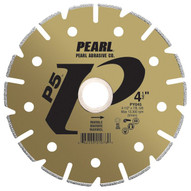 Pearl Abrasive Py045 4-12 X 78 58 Pearl P5 Electroplated Marble Blade-1