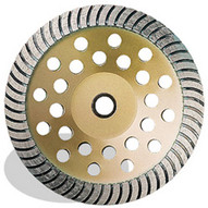 Pearl Abrasive Sw04c 4-12 X 58-11 Pearl P5 General Purpose Heavy Duty Cup Wheel Coarse-1