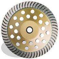 Pearl Abrasive Sw07c 7 X 78 58 Pearl P5 General Purpose Heavy Duty Cup Wheel Coarse-1