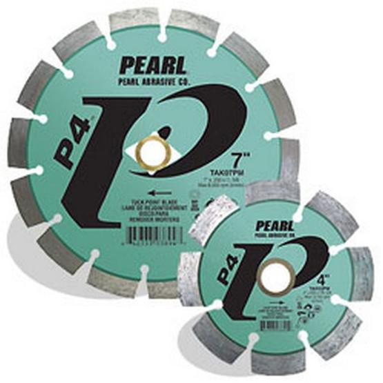 Pearl Abrasive Tak07pm 7 X .250 X 78 Dia 58 Pearl P4 Tuck Point Blade 12mm Rim-1