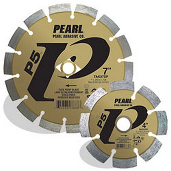 Pearl Abrasive Tak07sp 7 X .250 X 78 Dia 58 Pearl P5 Tuck Point Blade 12mm Rim-1