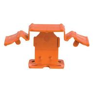 Pearl Abrasive TSC1000116O 38 To 12 Tuscan Orange Seamclip Grout Size: 116'' 1000box-2