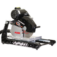 """Pearl Abrasive VX141MSPROD 14"""" Pearl Masonry/brick Saw W/ Dust Collection"""