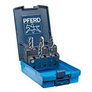 Pferd 26550 5 Piece Tc-bur Set - 14 Shank Plastic Case Alu Nf Cut-1