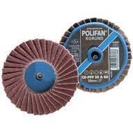 Pferd 42810 3 Polifan� Mini Flap Disc - Flat Aluminum Oxide - 80 Grit (10 In A Box)-1