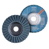 Pferd 43285 4-12 Polivlies� Non-woven Flap Disc 58-11 Thread - Coarse Grade (5 In A Box)-1