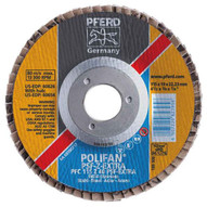 Pferd 60460 4-12 X 78 Polifan� Flap Disc - Flat Psf-extra Zirconia 60 Grit (10 In A Box)-1