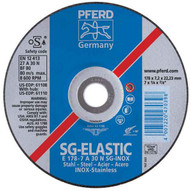 Pferd 61105 4-12 X 14 Grinding Wheel 78 Ah A 30 N Sg-inox - Type 27 (10 In A Box)-1