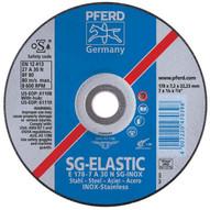 Pferd 61114 4-12 X 14 Grinding Wheel 58-11 Thd. A 30 N Sg-inox - Type 27 (10 In A Box)-1