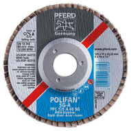 Pferd 62150 4-12 X 78 Polifan� Flap Disc - Flat Sg Aluminum Oxide 40 Grit (10 In A Box)-1