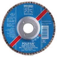 Pferd 62627 5 X 58-11 Polifan� Flap Disc - Flat Sgp Ceramic Oxide Cool 40 Grit (10 In A Box)-1