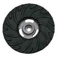 Pferd 69455 4-12 Ribbed Fiber Disc Backing Pad 58-11 Nut - Regular Density-1