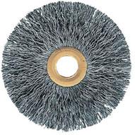 Advance Brush 81575 2 Tube Center Wire Wheel .006 Ss Wire 12-38 Arbor (10 In A Box)-1