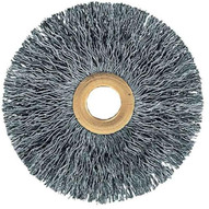 Advance Brush 81586 3 Tube Center Wire Wheel .006 Ss Wire 12 Arbor (10 In A Box)-1