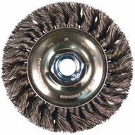 Advance Brush 81651 3 Standard Twist Knot Wheel .014 Cs Wire 12-38 Arbor (10 In A Box)-1
