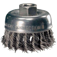 Advance Brush 82219 2-34 Knot Wire Cup Brush .014 Cs Wire 58-11 Thread (ext.) (5 In A Box)-1