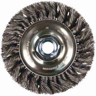 Advance Brush 82283 4 Standard Twist Knot Wheel .014 Ss Wire 58-11 Thread (10 In A Box)-1