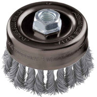 Advance Brush 82654 6 Knot Wire Cup Brush .023 Ss Wire 58-11 Thread (ext.)-1
