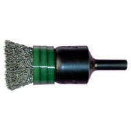 Advance Brush 83007 12 Banded Crimped Wire End Brush .010 Cs Wire 14 Shank (10 In A Box)-1