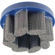 Advance Brush 83953 8 M-brad Disc Brush - Standard Density Round Filament .040 Sic 80 Grit-1