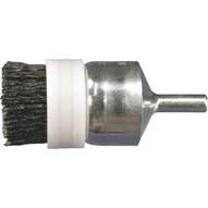 Advance Brush 84005 1 M-brad End Brush 14 Stem .035 Sic - 180 Grit Banded (10 In A Box)-1