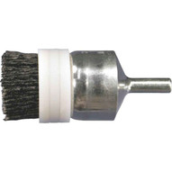 Advance Brush 84313 1 M-brad End Brush - 14 Shank .022 Ceramic Ox. 120 Grit Banded (10 In A Box)-1