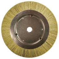 Advance Brush 84327 8 Narrow Face Wheel Brush Tampico Fill 1-14 Keyed Arbor-1