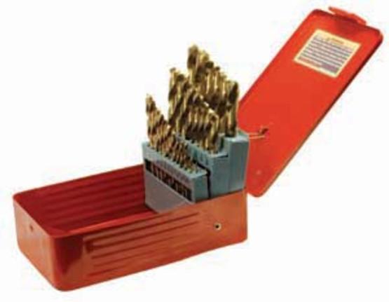 Performance Tool Wilmar W9017 29 Piece Titanium Drill Bit Set-1
