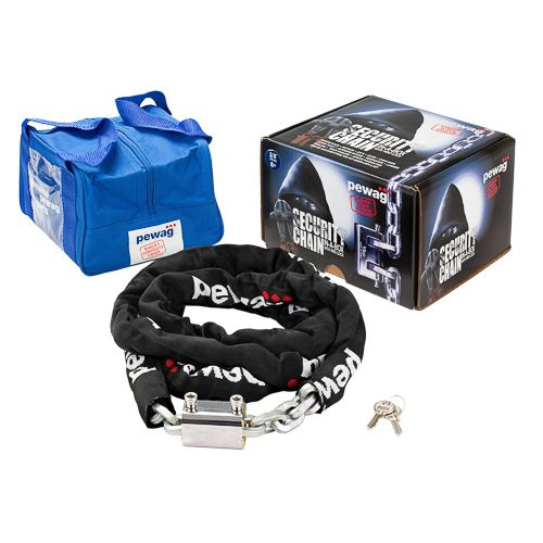 pewag security chain, anti theft, cut resistant, grinder proof