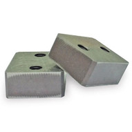 Benner Nawman RB-20WH75 Set of Two Replacement Cutting Blocks Grade 75 for DC-20WH (No Cap Bolts)-1
