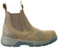 Redback Boots Usa BTF9.5 Blue Tongue Men's Brownfallbrook 6'' Slip On Soft Toe-1