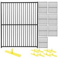 Perimeter Patrol RF 1010 EDP (8) Panels Wclamps (9) Bases- 5 X 6 European Design Barrier Kit-1