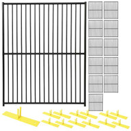 Perimeter Patrol RF 2020 EDP (12) Panels Wclamps (13) Bases- 5 X 6 European Design Barrier Kit-1