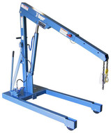 Ruger Industries HP-2W Ruger Wide Base Floor Crane - 2 Ton-2