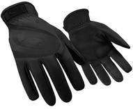 Ringers-ansell 113T-08 Turbo Black Slip-on Cuff Sgloves-1
